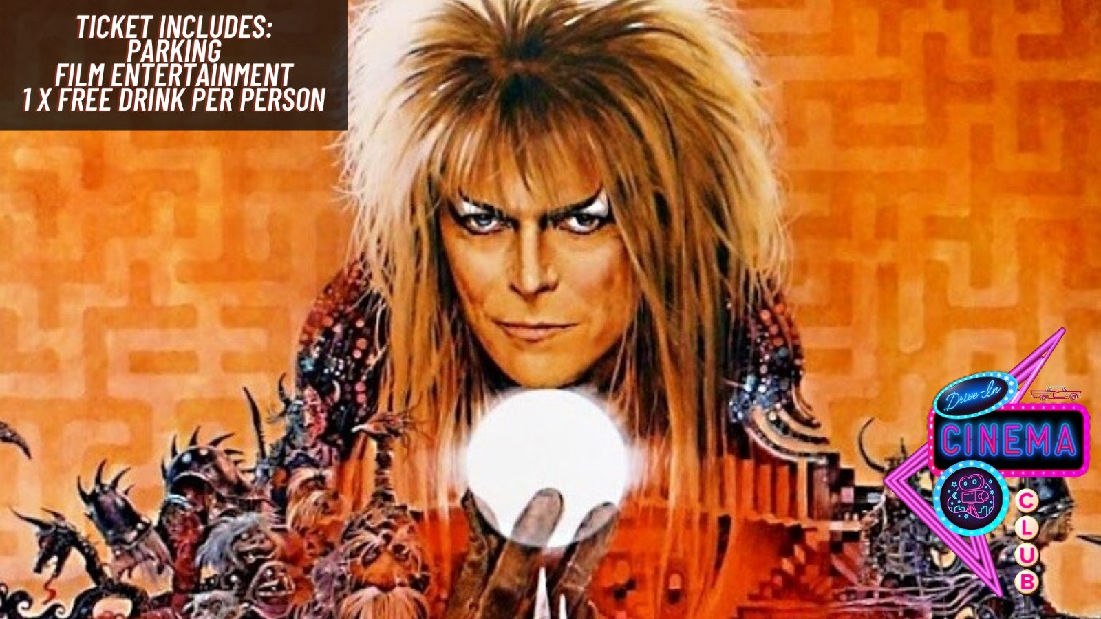 Labyrinth (Limited £15 Tickets)  –  Sunday 9th August 12:30