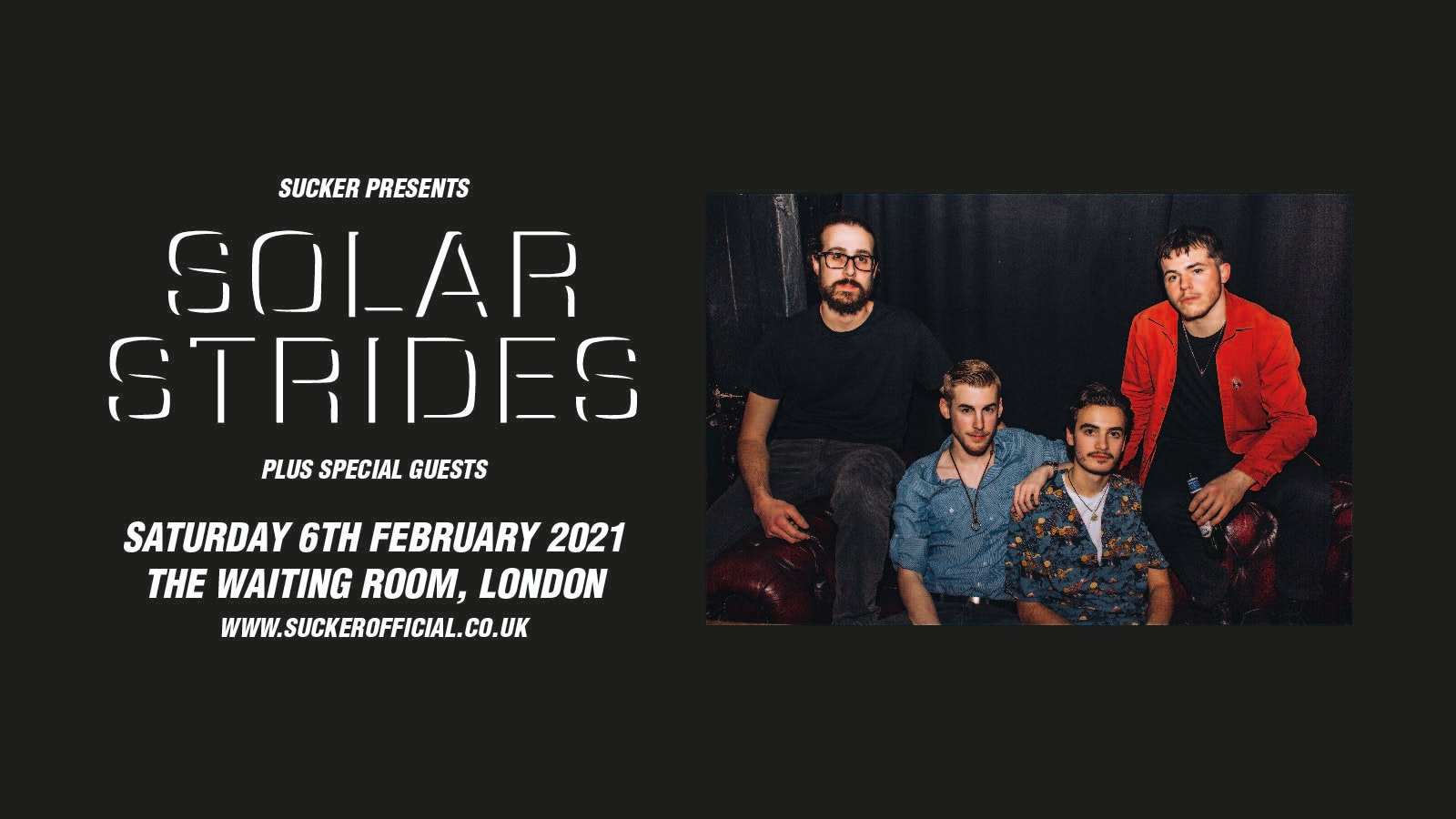 Solar Strides at The Waiting Room, London