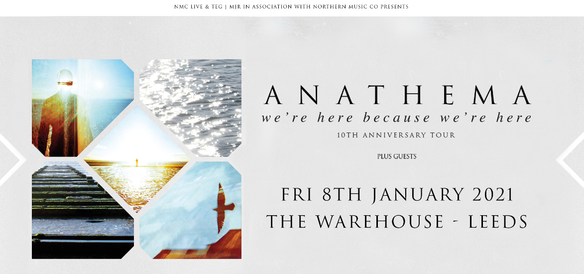 Anathema – Playing 'We're Here Because We're Here' In Full