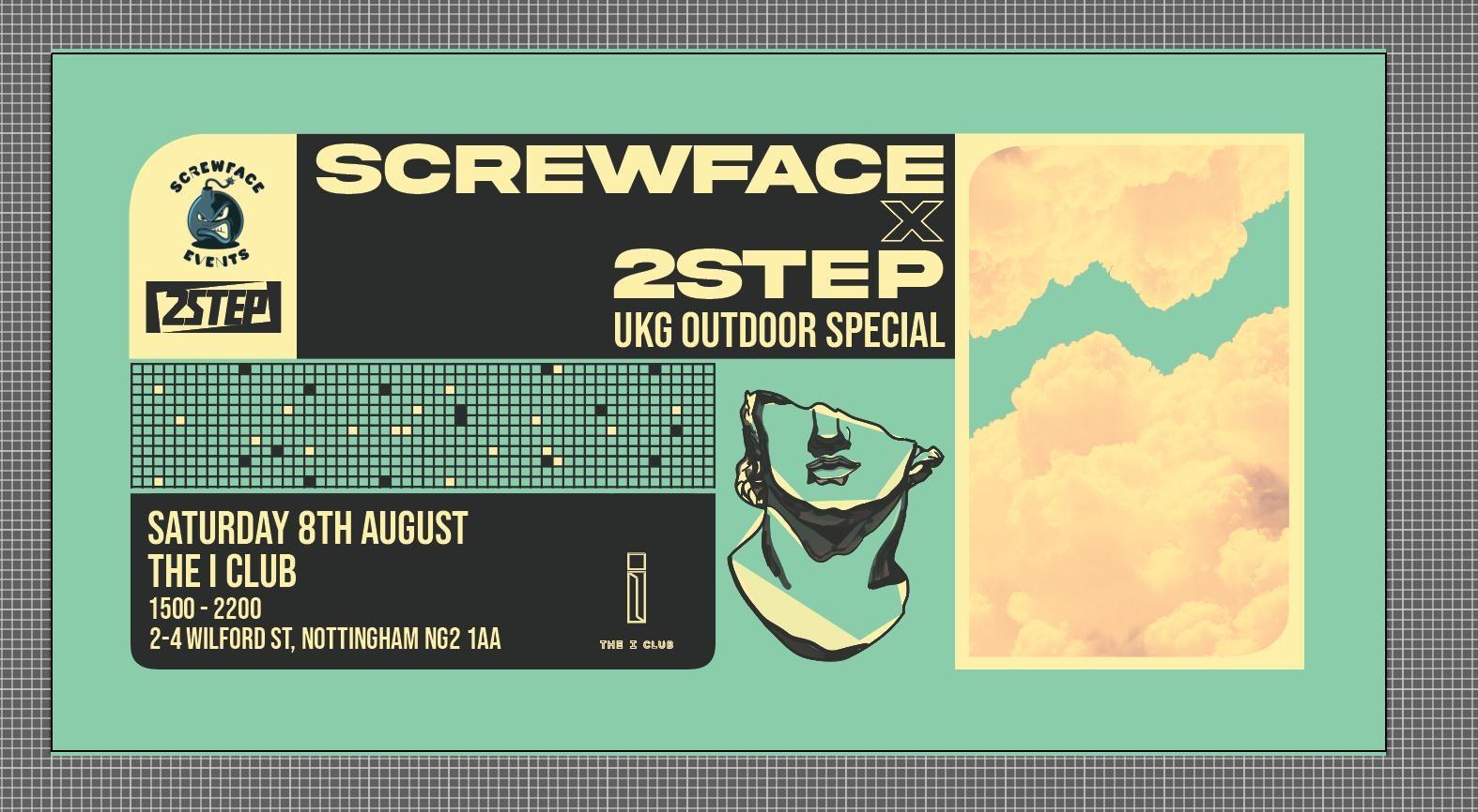 2step x Screwface