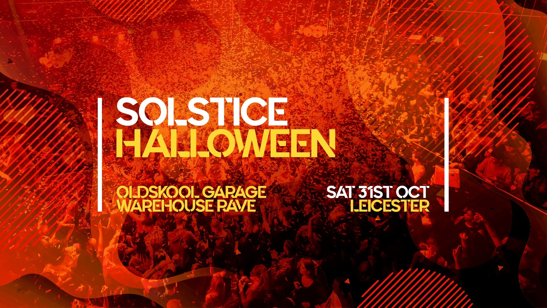 Halloween Oldskool Garage Warehouse Rave – Leicester