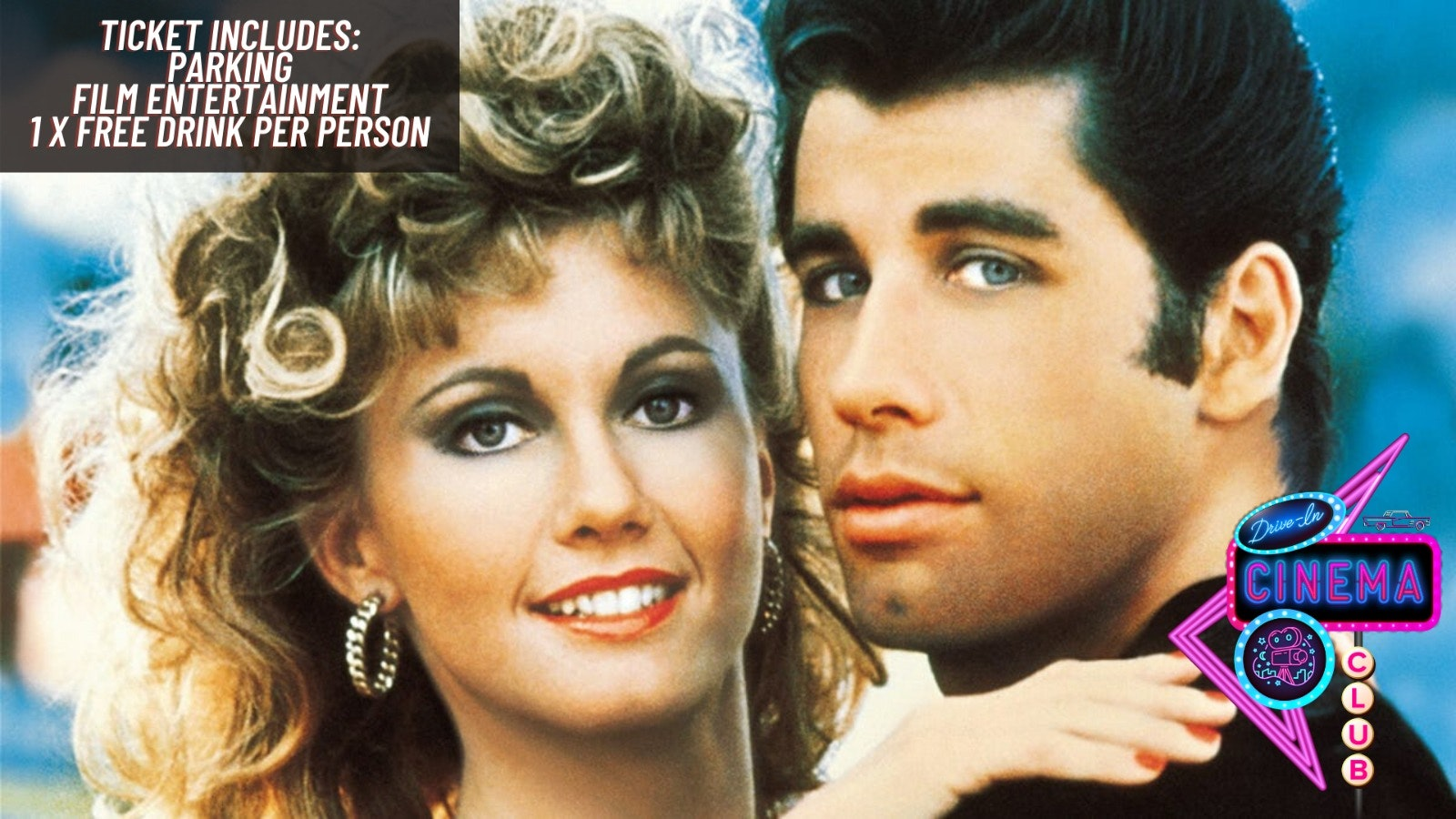 Grease (Sing Along)  (Limited £15 Tickets) –  Saturday 8th of August  16:30