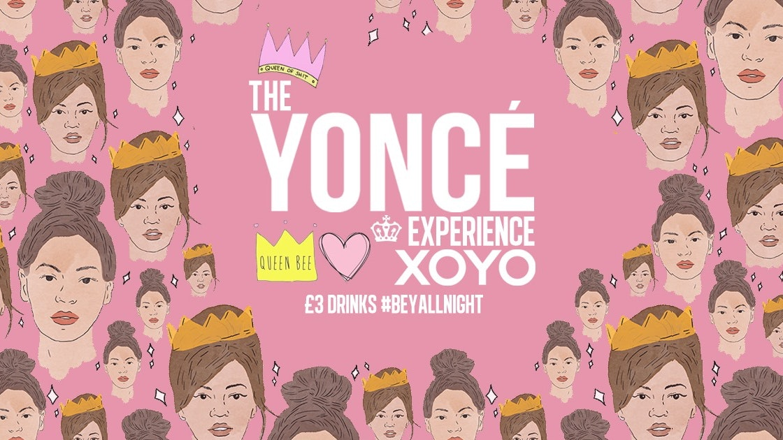 The Yoncé Experience – September | Freshers 2020 at XOYO London