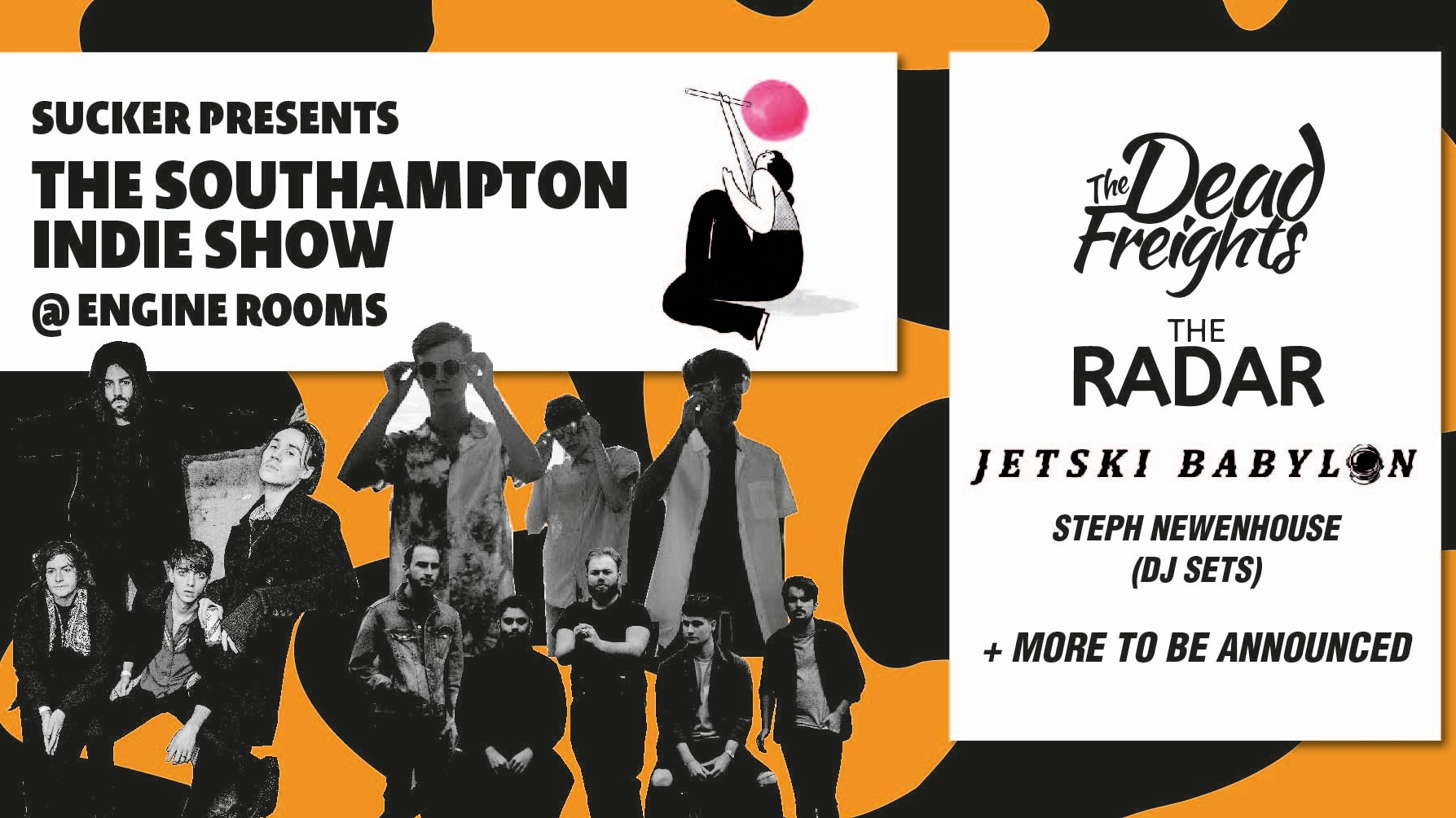 The Southampton Indie Show ft. The Dead Freights, The Radar and more