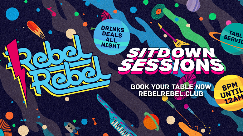 Rebel Rebel – The Sit Down Sessions 08/08/20