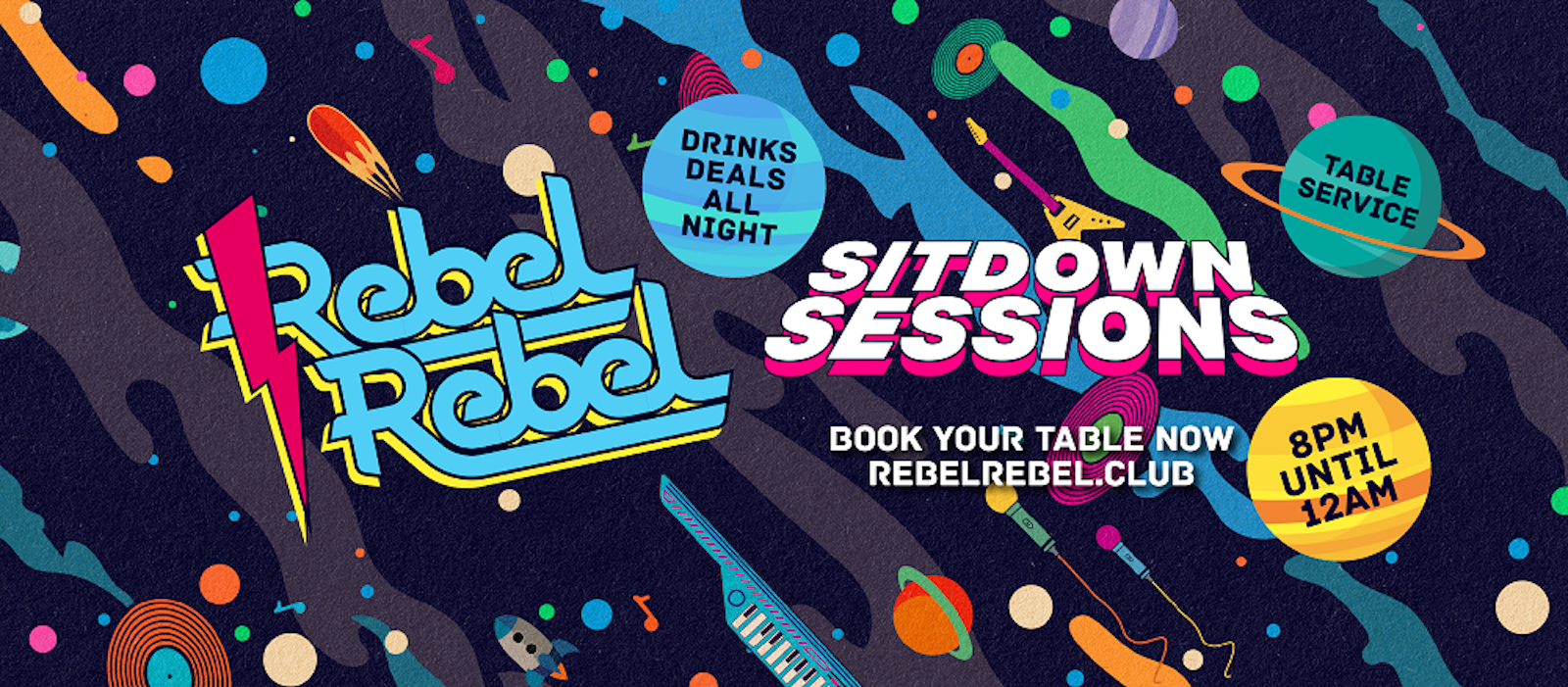 Rebel Rebel – The Sit Down Sessions 29/08/20