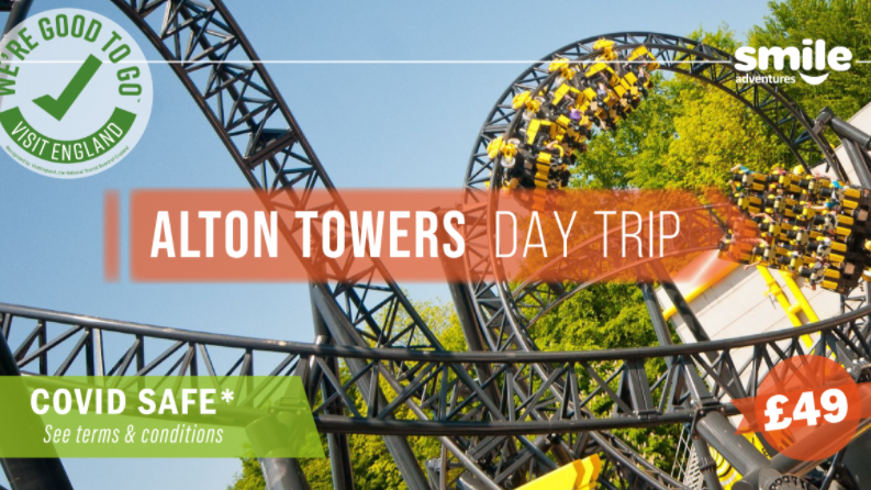 Alton Towers Day trip  – From Manchester