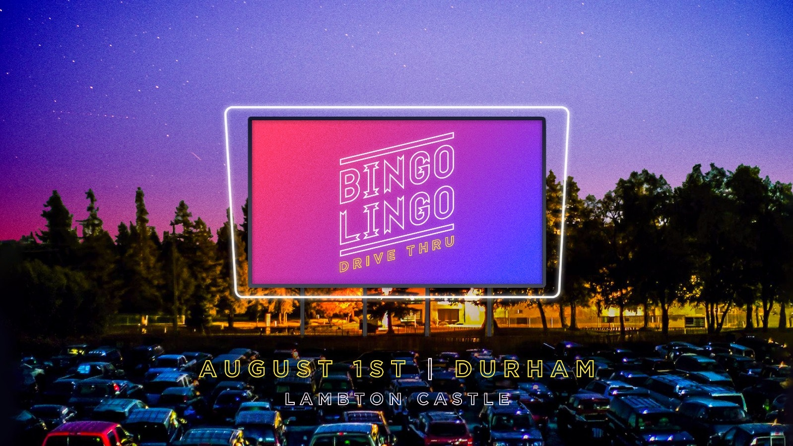 BINGO LINGO The Drive-In Sessions - Durham | Drive In ...