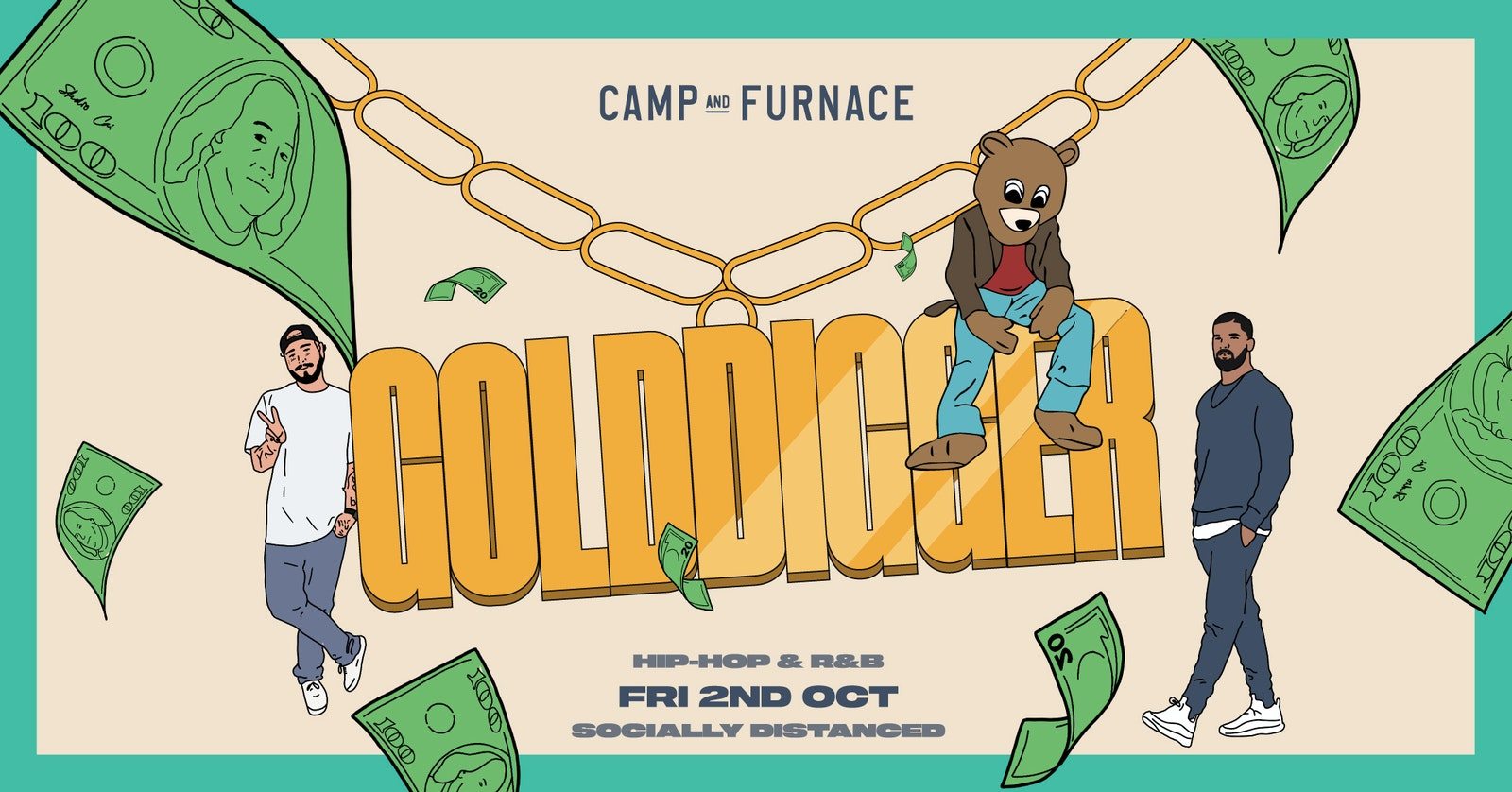 Gold Digger Liverpool Freshers : Socially Distanced : Fri 2nd Oct : C&F