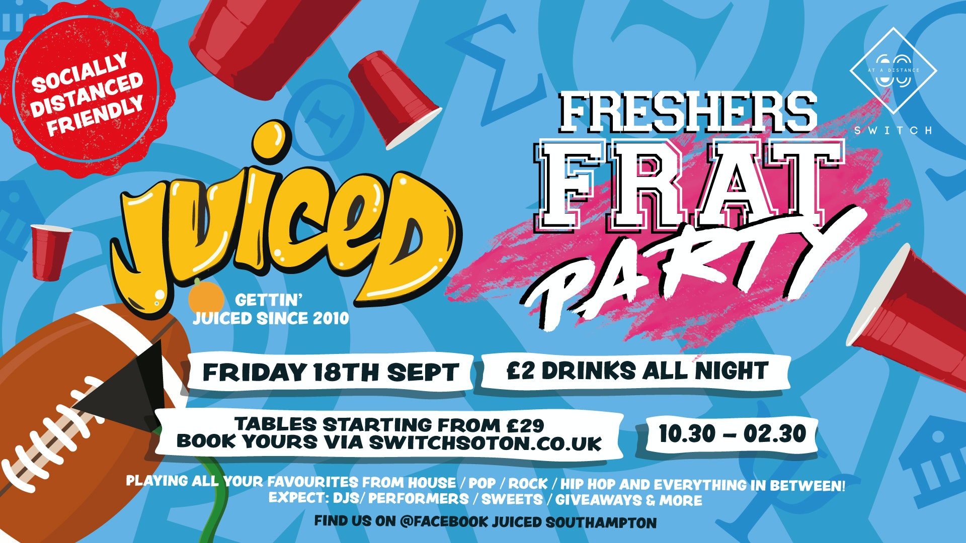 Juiced: Freshers Frat Party