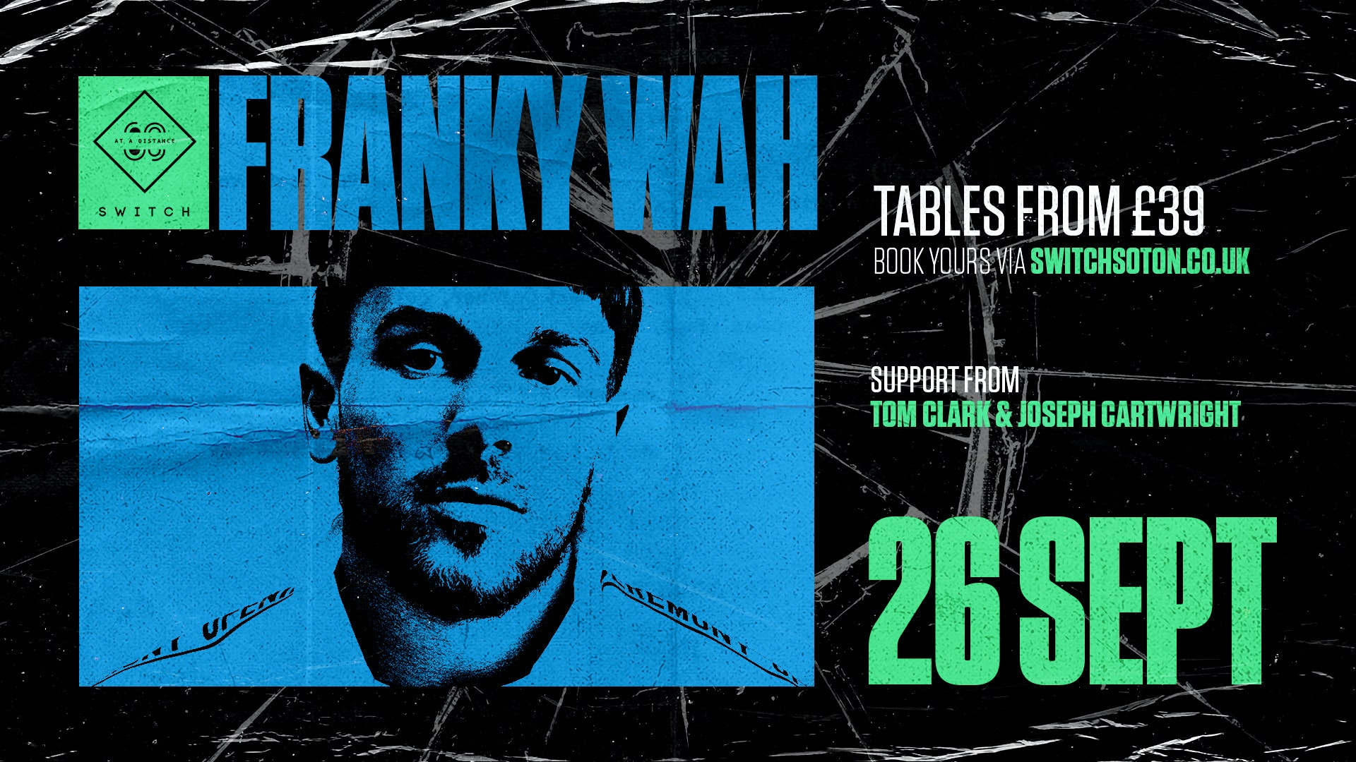 Warehouse presents: Franky Wah
