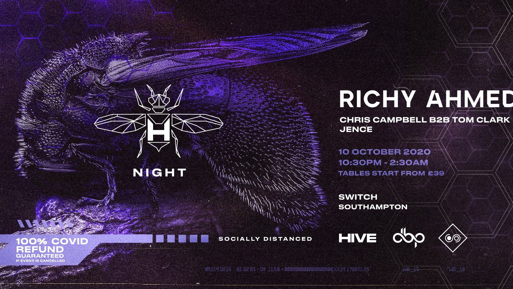 HIVE presents: Richy Ahmed – Night
