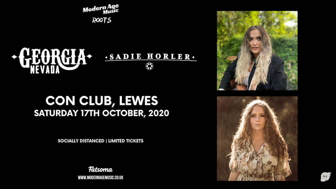 Georgia Nevada + Sadie Horler live at Con Club, Lewes