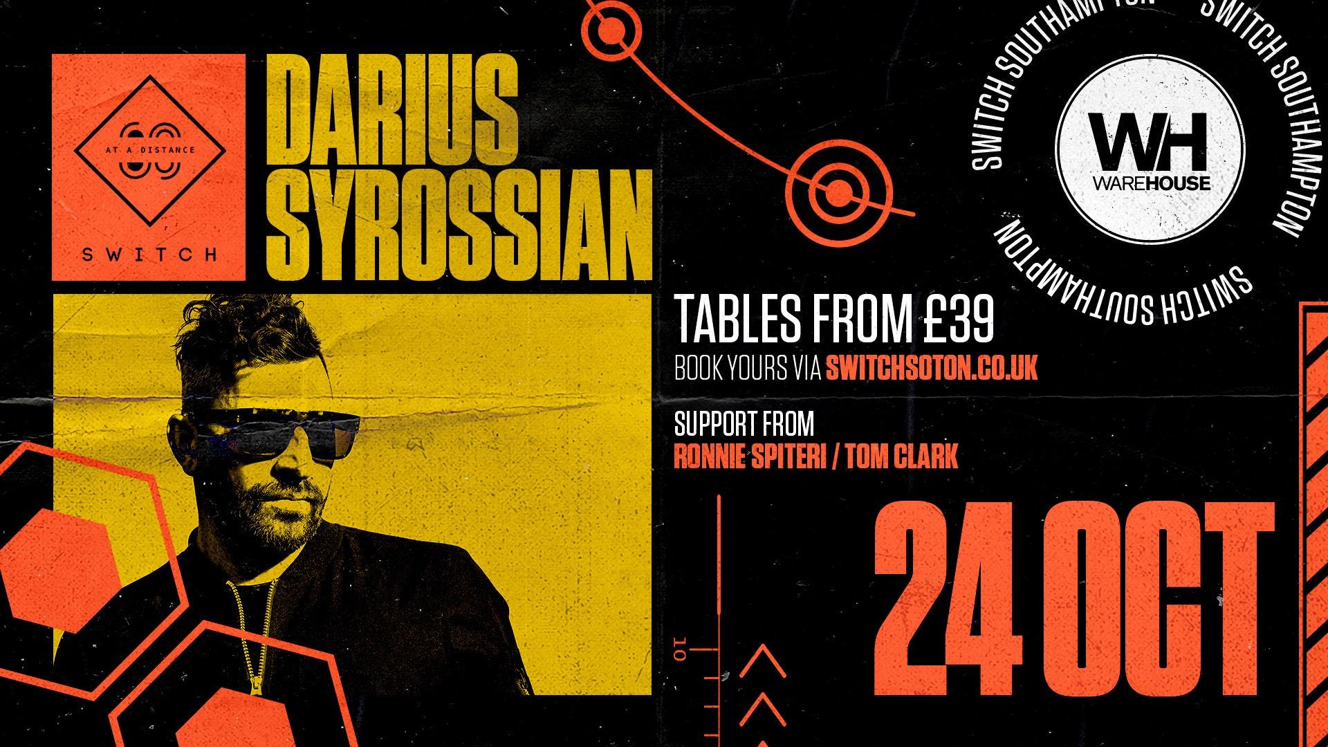 Warehouse presents: Darius Syrossian