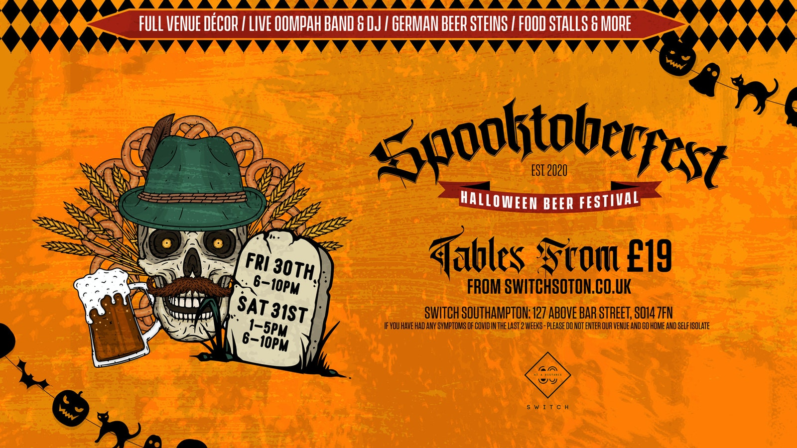 Spooktoberfest: Halloween Beer Festival (Friday Evening Session)