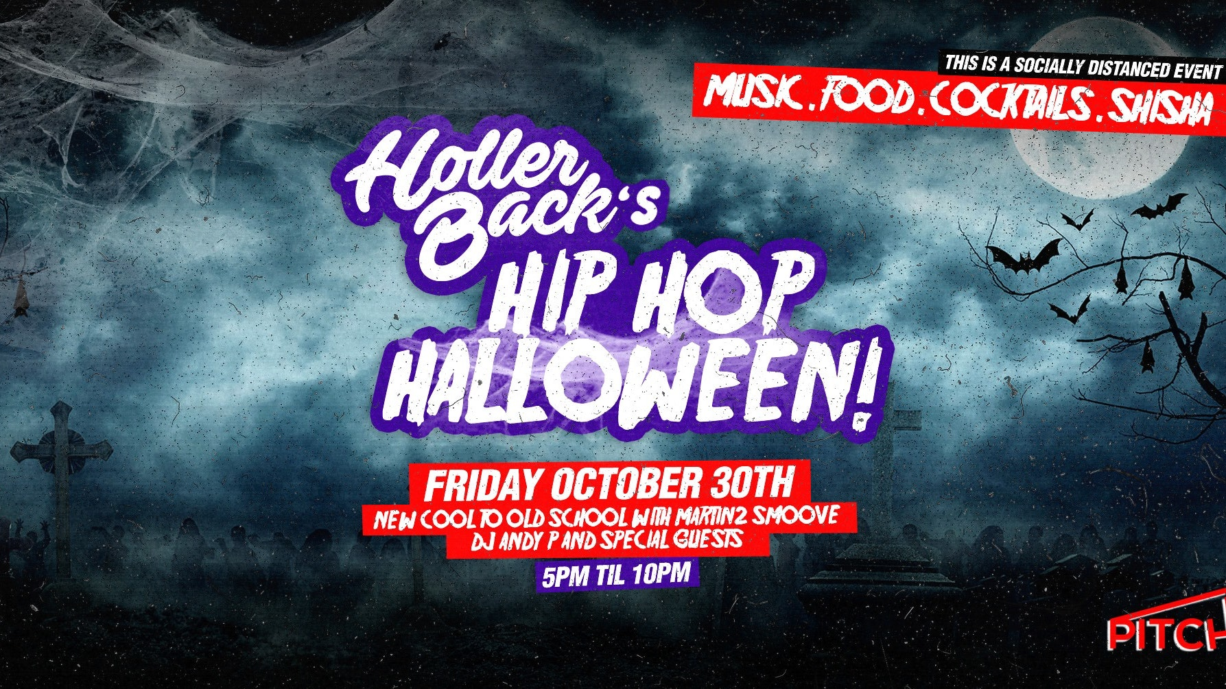 Holler Back's Hip Hop Halloween 😈 On The Terrace 👻Tickets Out Now!