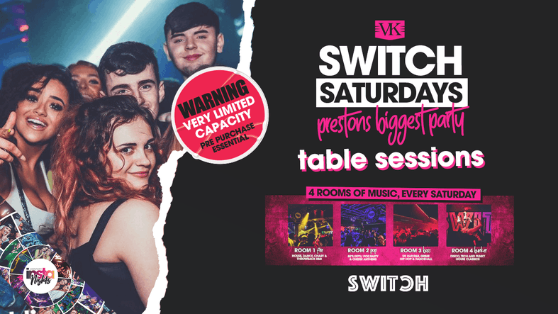 Switch Saturdays * Prestons Biggest Party *The Early Sessions