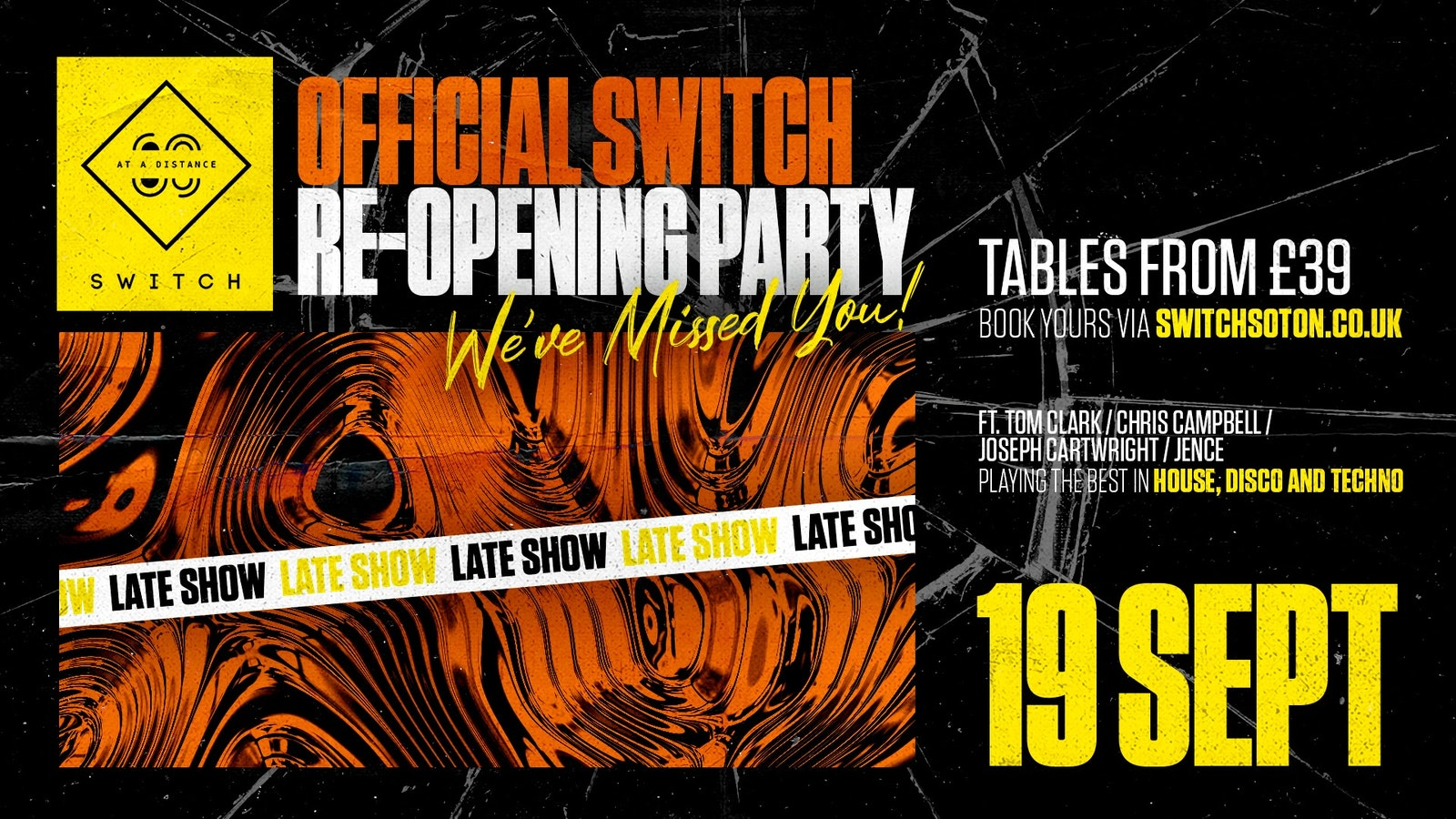 Official Switch Re-opening Party