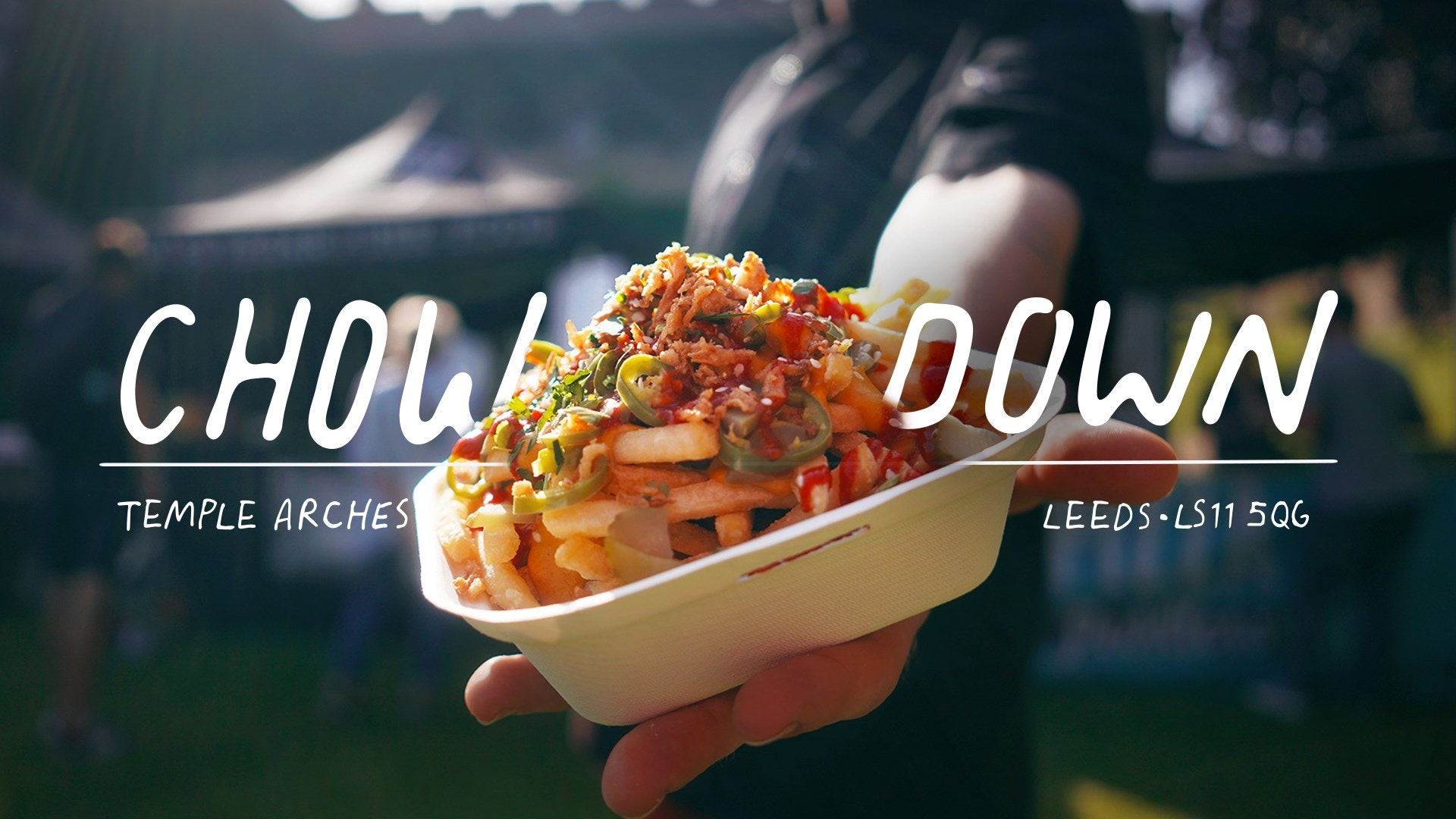 11:30am – Saturday 26th September – Chow Down