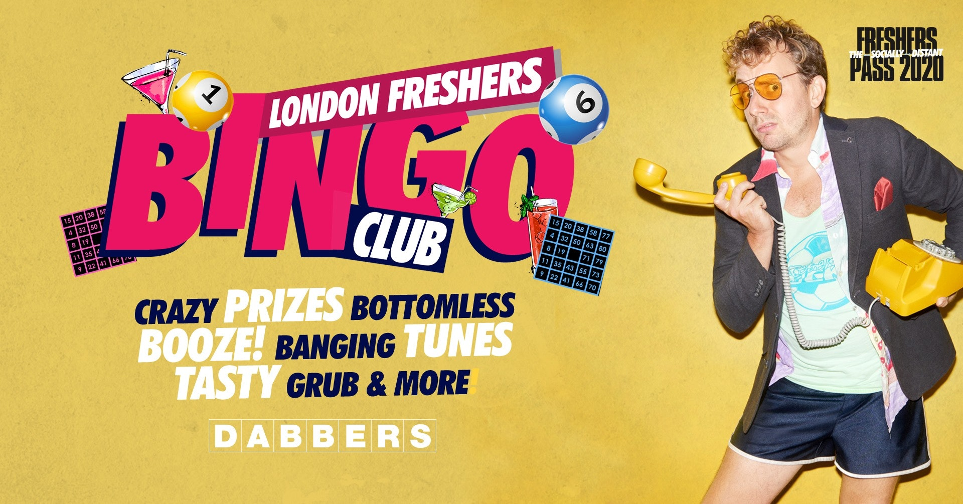 The London Freshers Bingo Club 🎱The Booziest Night Out! 🎉 Tickets Out Now!
