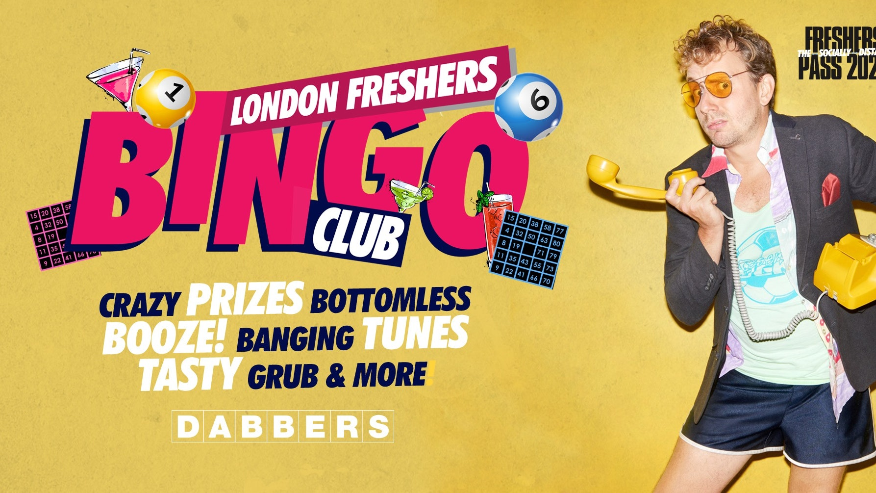 The London Freshers Bingo Club 🎱The Booziest Night Out! 🎉SOLD OUT