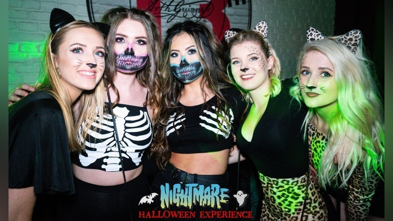 Nightmare Halloween Experience 2021! 6 Venue Halloween Block Party inc Rosies AND Players!
