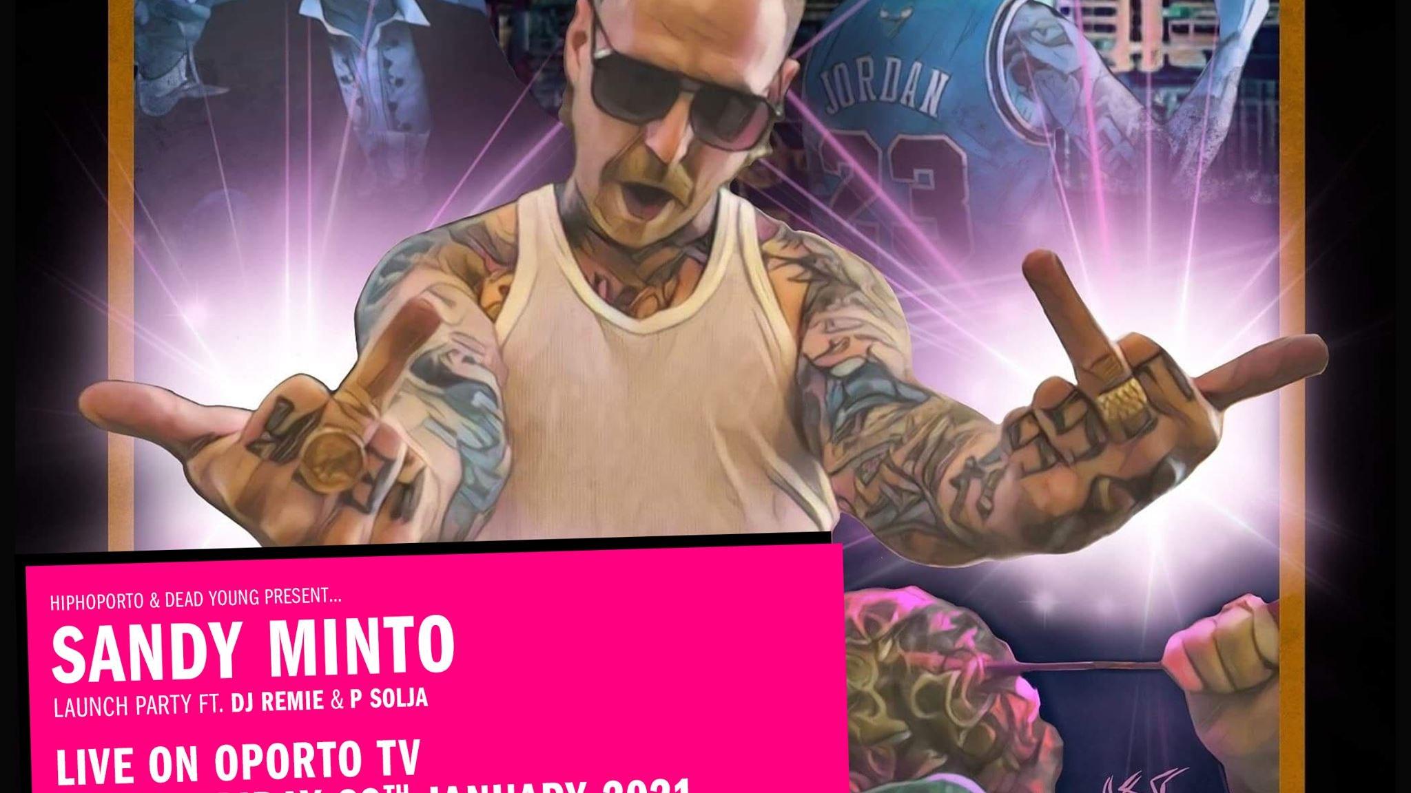 Sandy Minto Hiphoporto show on #OportoTV for Independent Venue Week