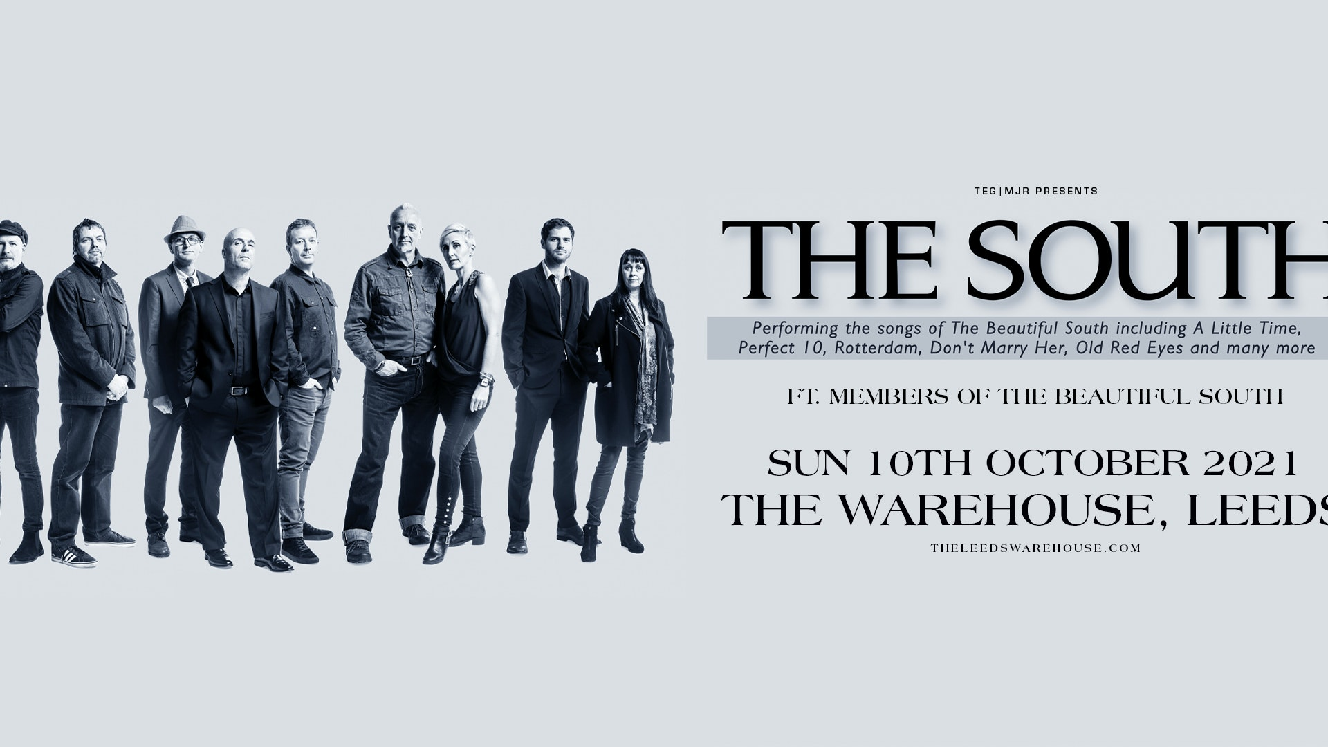 The South Ft Members of The Beautiful South – Live