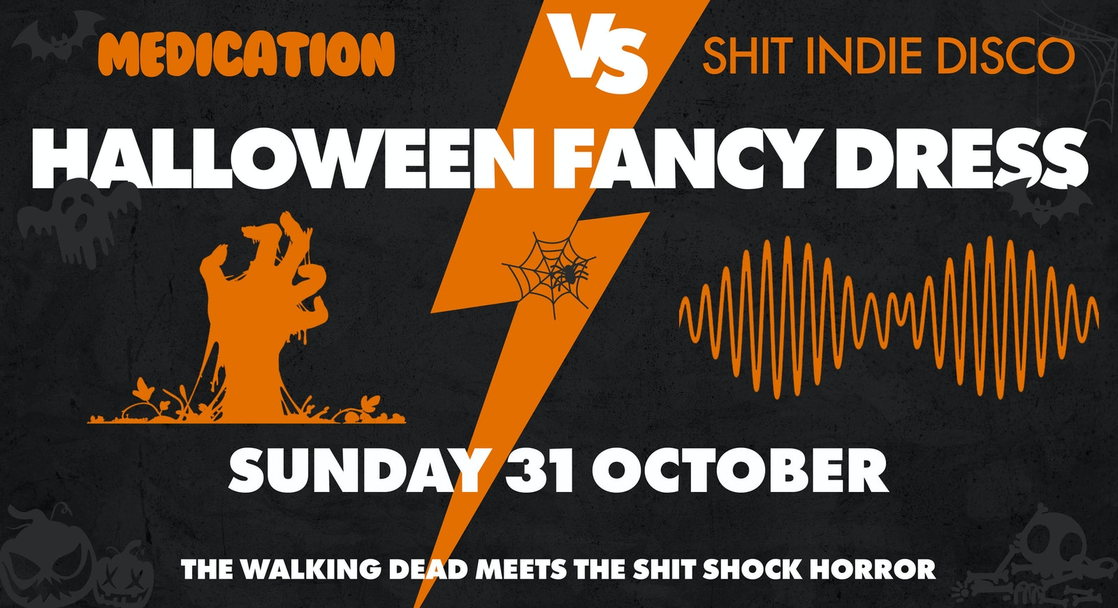 Med & Shit Indie Disco's Halloween Special