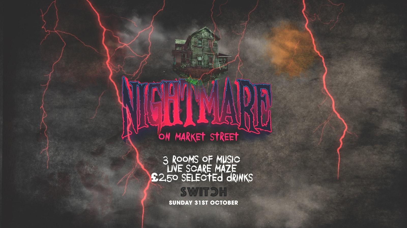 HALLOWEEN Sunday   Nightmare On Market Street