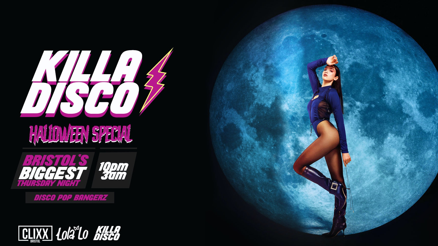 KILLA DISCO  | Halloween Special! – Killa Tunes + Killa Drinks / Free Shot with every ticket!
