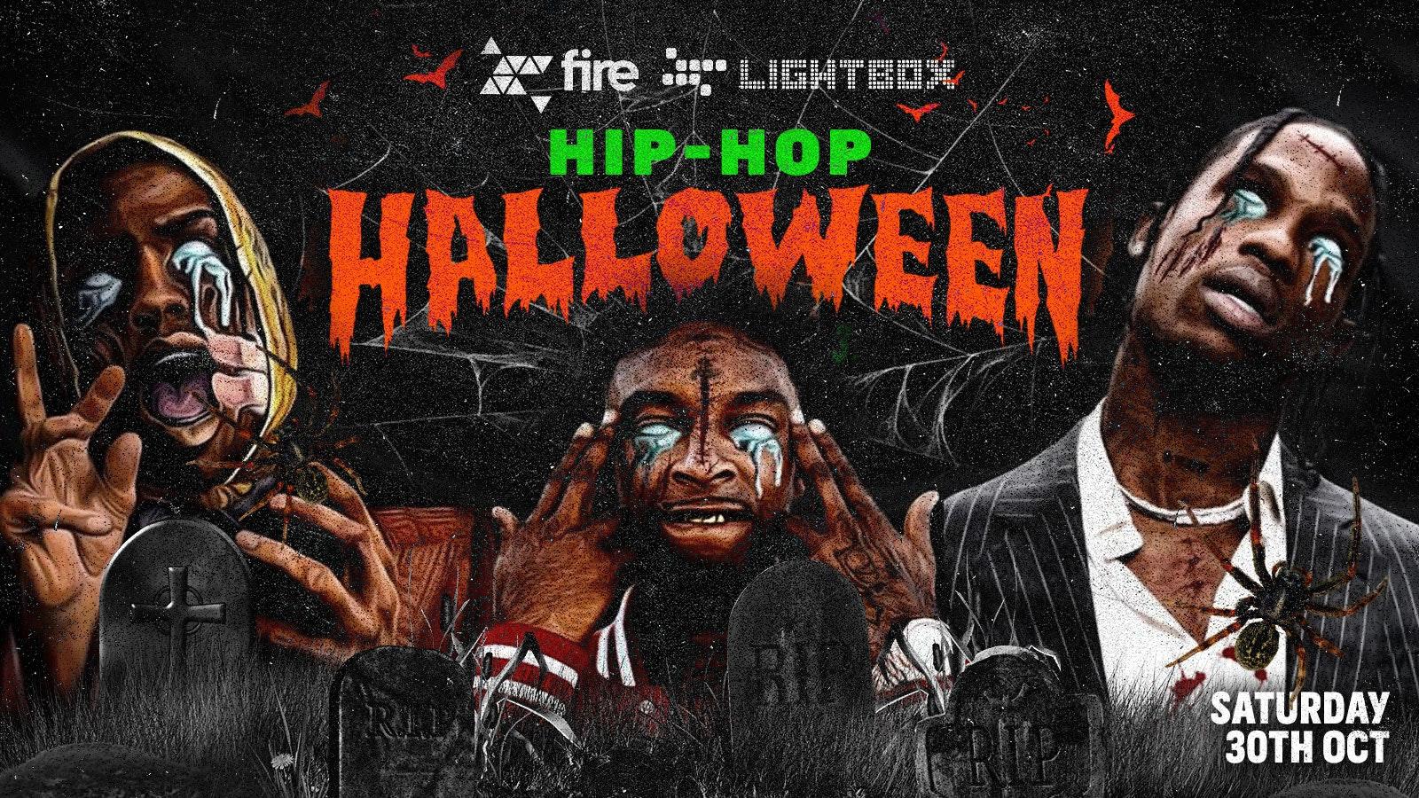 Hip Hop Halloween @ Fire & Lightbox | London Halloween 2021