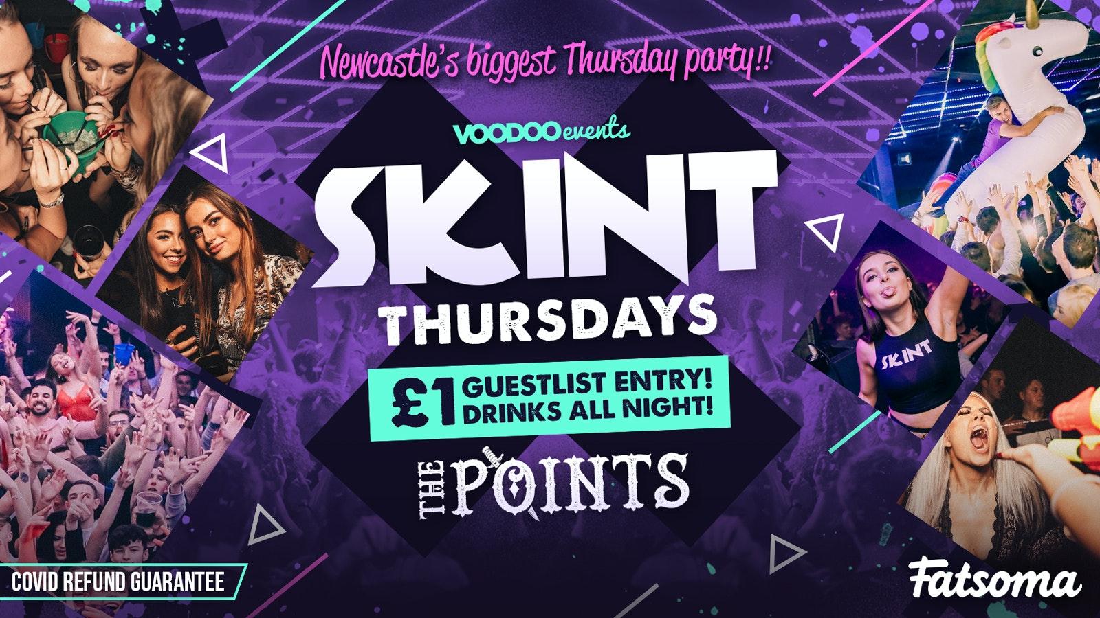Skint  |  £1 Tickets & £1 Drinks