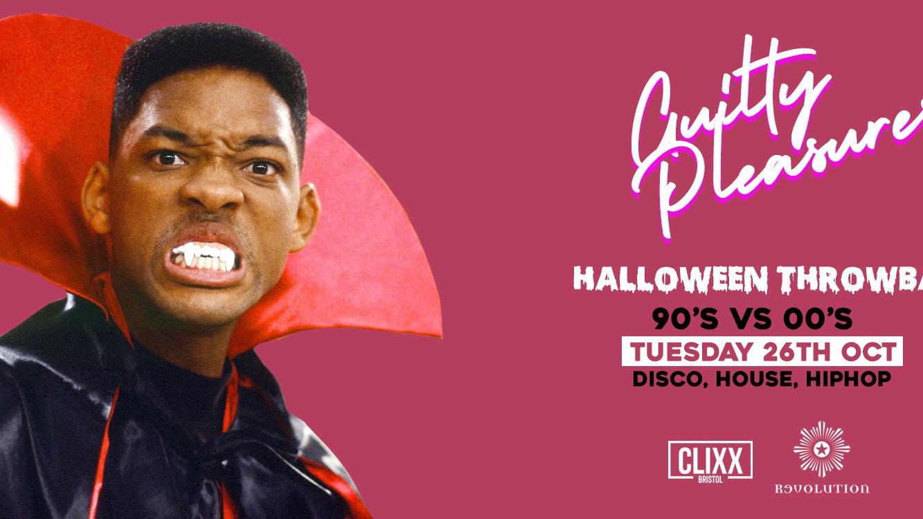 Guilty Pleasures 90's VS 00's – Halloween Throwback