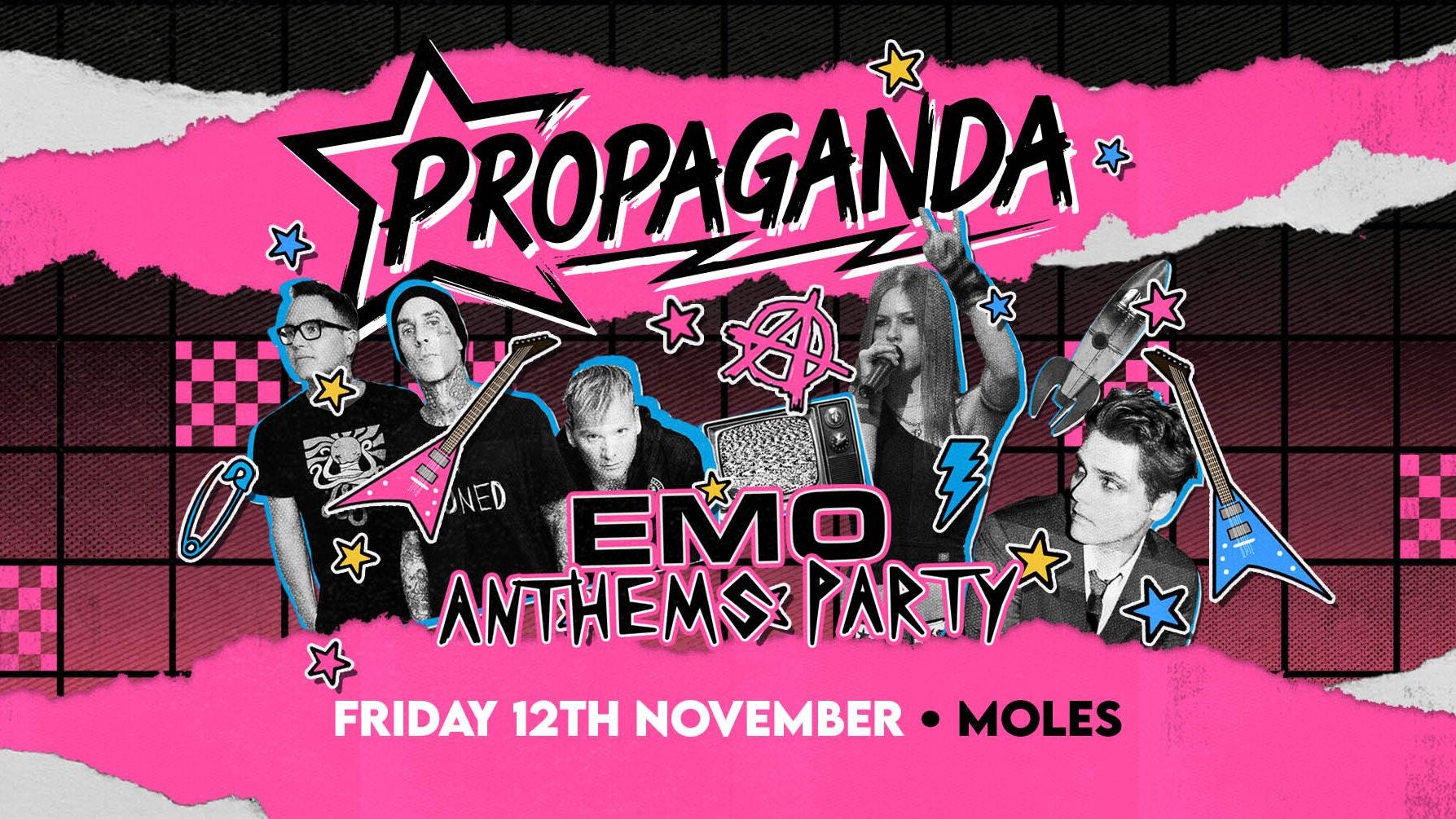 Propaganda Bath – Emo Anthems Party!