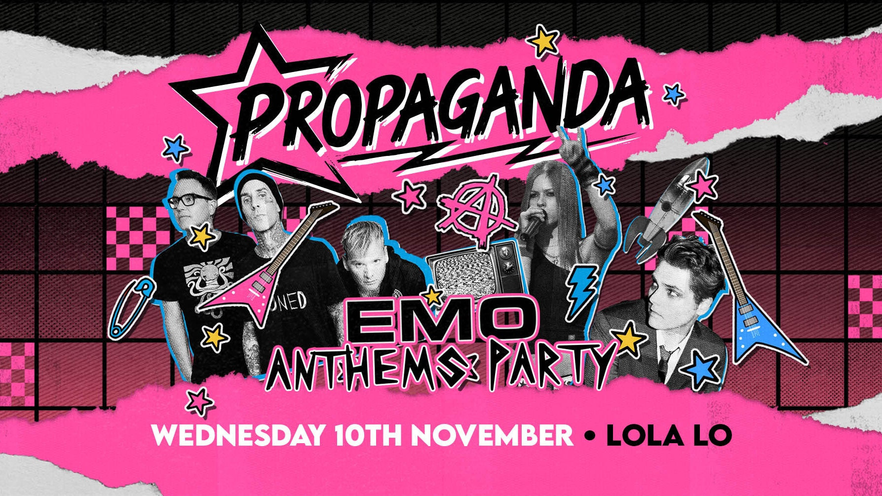 Propaganda Cambridge – Emo Anthems Party!