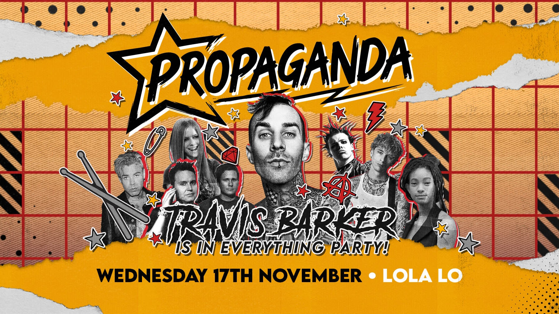 Propaganda Cambridge – Travis Barker Is In Everything Party!