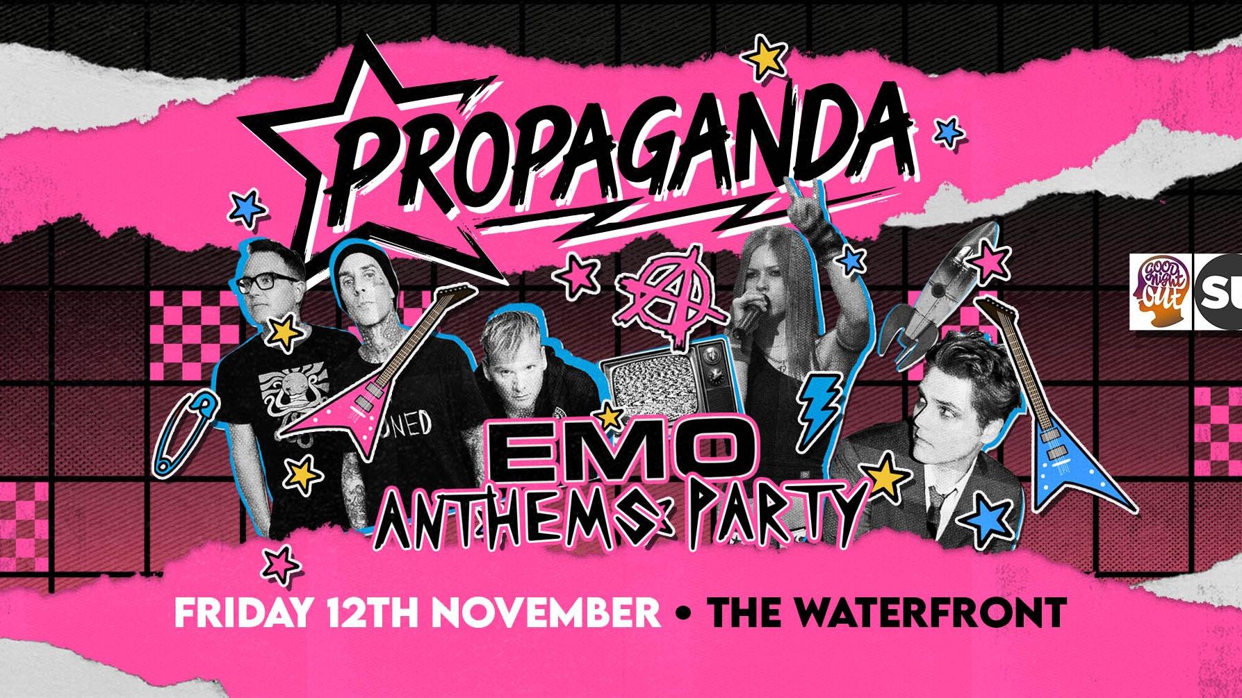 Propaganda Norwich – Emo Anthems Party!