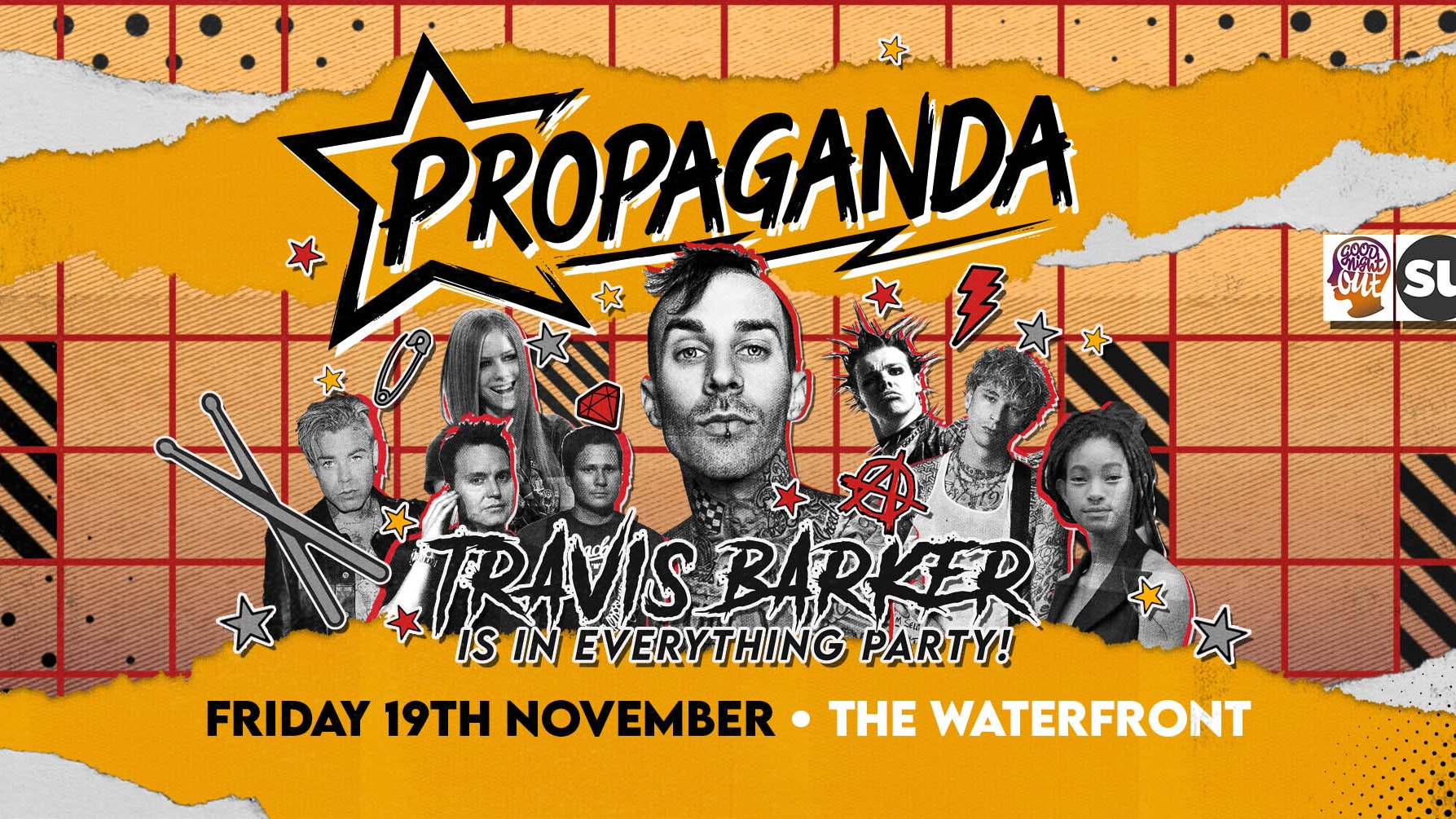 Propaganda Norwich  – Travis Barker Is In Everything Party!