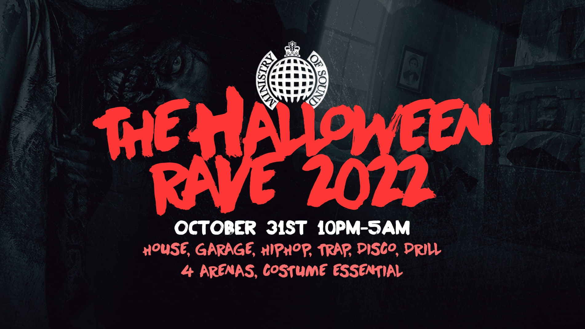 The Halloween Rave 2022     Ministry of Sound 👻