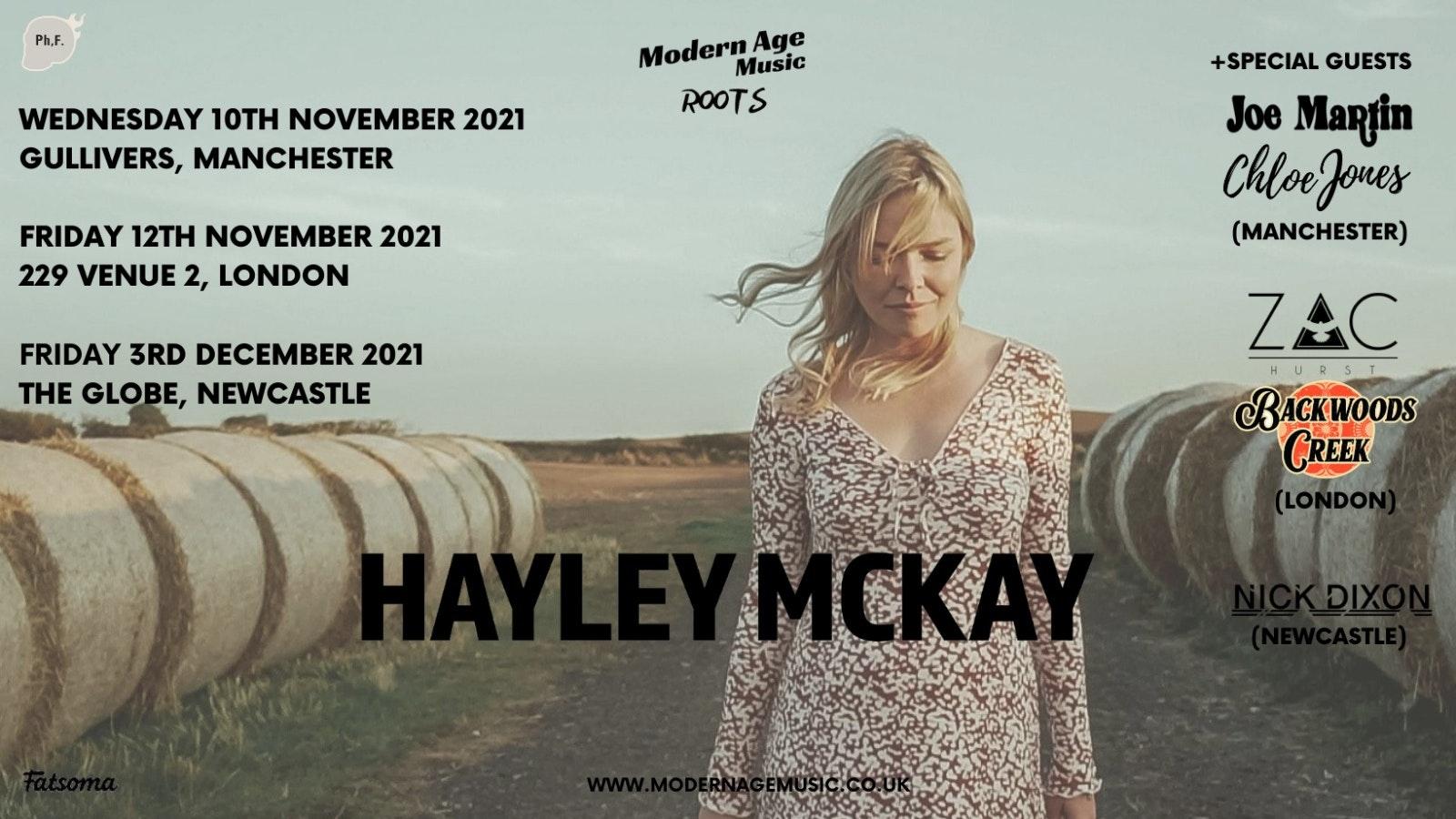 Hayley Mckay – Manchester + Joe Martin & Chloe Jones