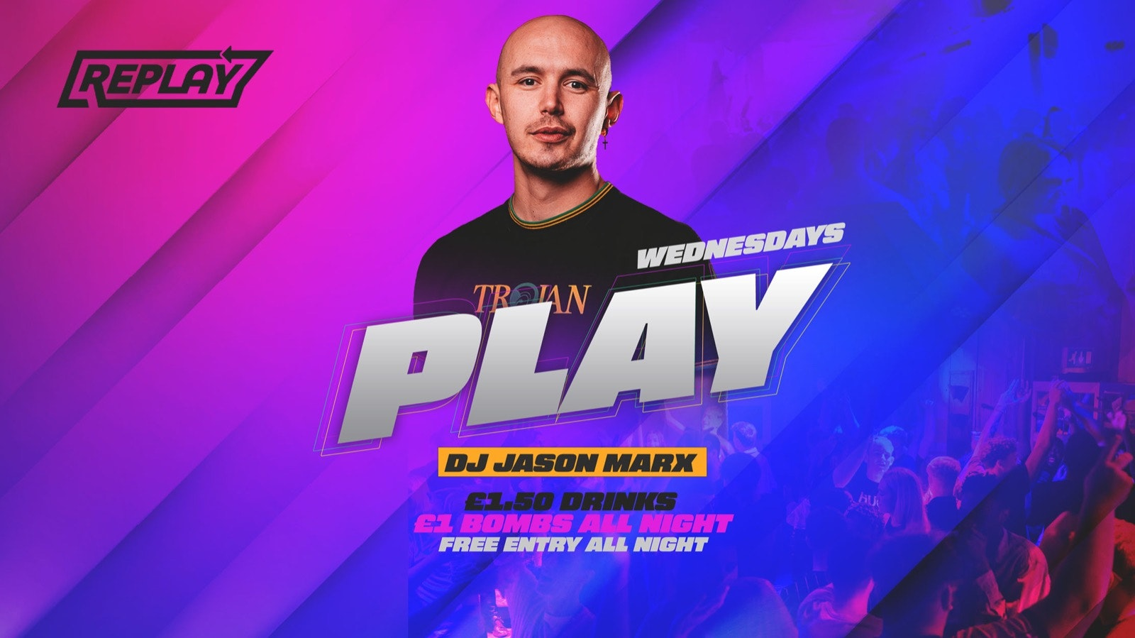 Disco Bingo + Play Wednesdays At Replay