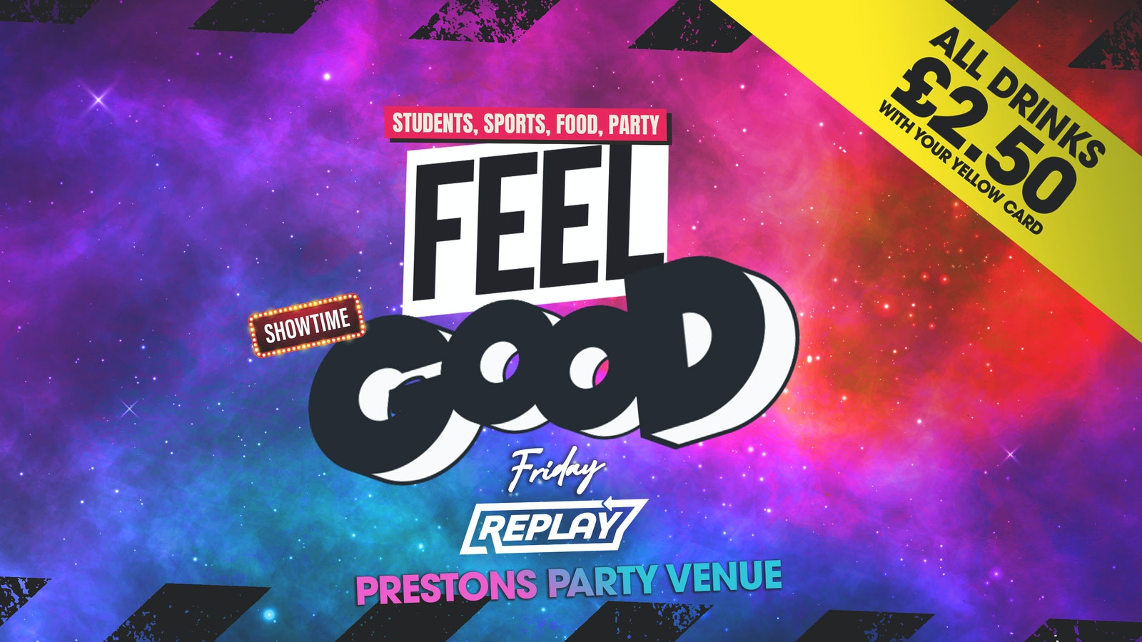 FEEL GOOD – Prestons Party Central – Every Friday