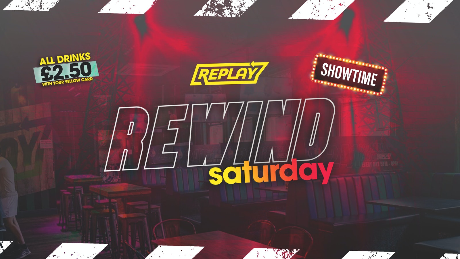 REWIND – Prestons Party Central – Every Saturday