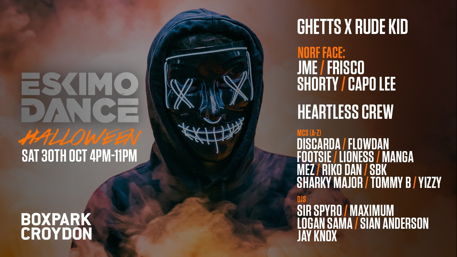Eskimo Dance Halloween (STUDENT TICKETS OUT NOW!)