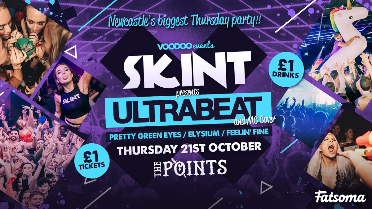 Skint – Ultrabeat & MC Cover!!  |  £1 Tickets & £1 Drinks