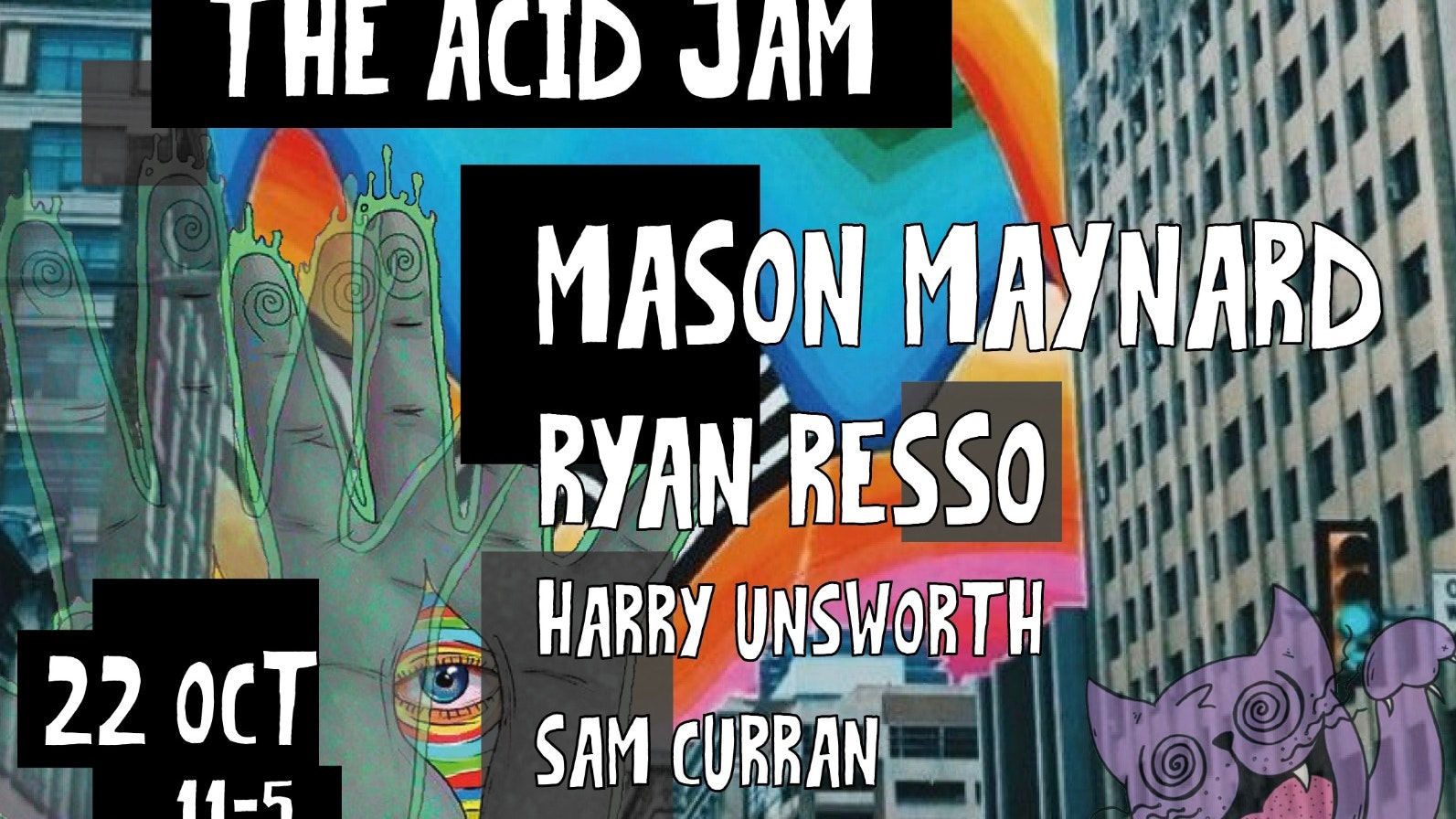 Till? : The Acid Jam – Mason Maynard – Club