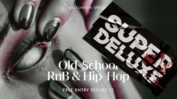 Halloween Special – Super Deluxe – Fridays at SOYO