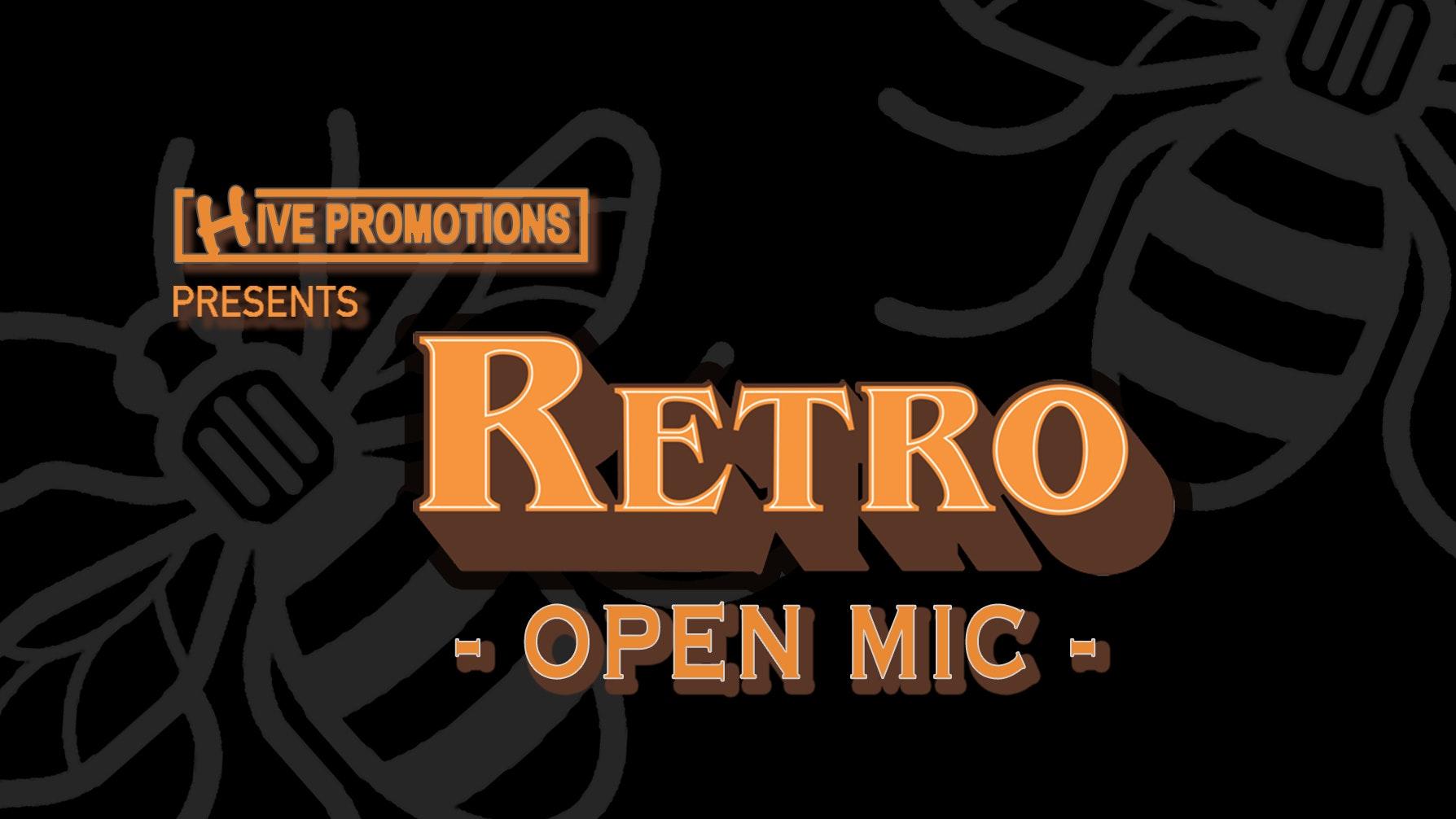 Retro Open Mic