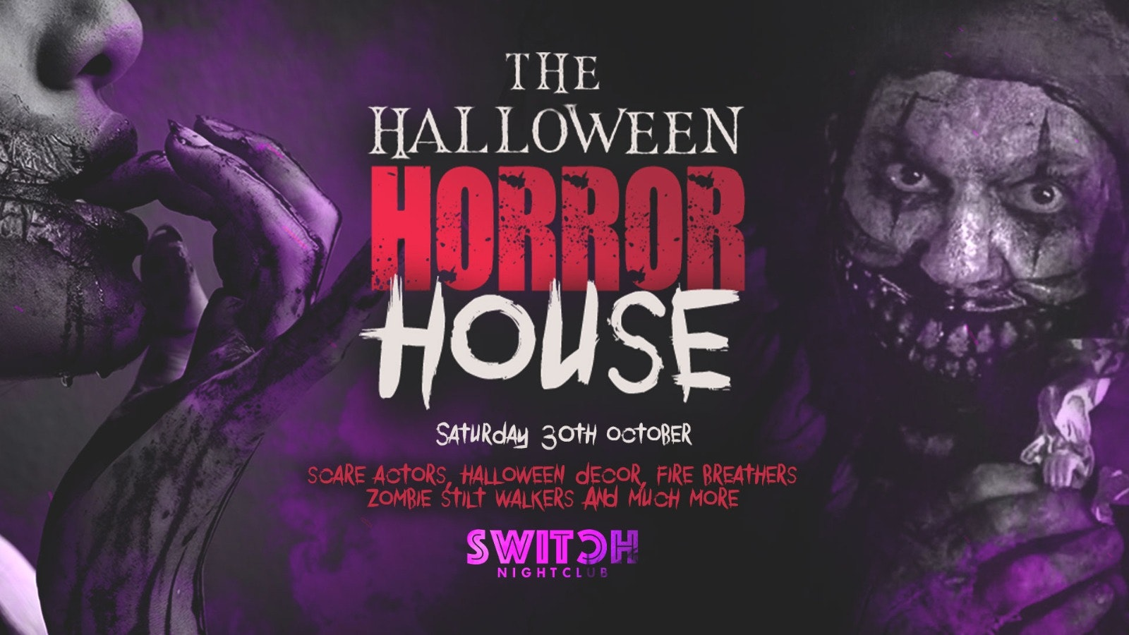 SWITCH Saturdays   The Halloween Horror House